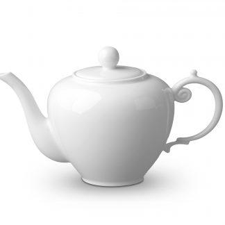 L Objet Aegean White Teapot