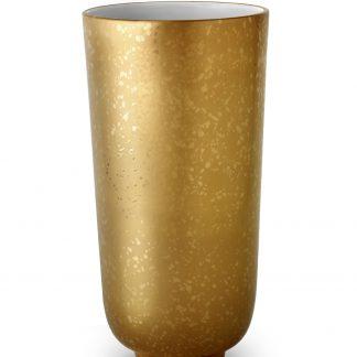 L Objet Alchimie Gold Vase Large