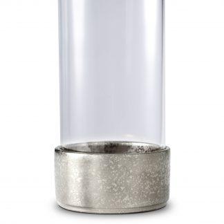 L Objet Alchimie Platinum Hurricane Lamp Small