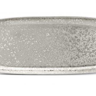 L Objet Alchimie Platinum Rectangular Platter Large
