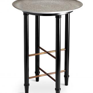L Objet Alchimie Platinum Side Table