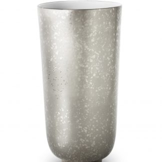 L Objet Alchimie Platinum Vase Large