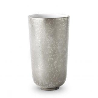 L Objet Alchimie Platinum Vase Small