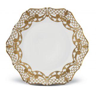 L Objet Alencon Gold Dinner Plate
