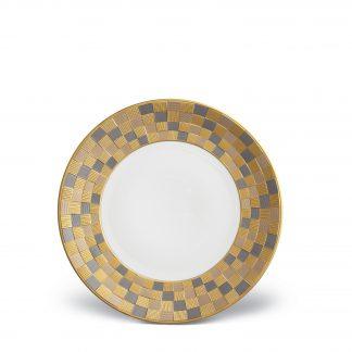 L Objet Byzanteum Tricolor Dessert Plate