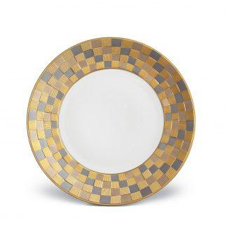 L Objet Byzanteum Tricolor Dinner Plate