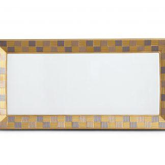 L Objet Byzanteum Tricolor Rectangular Platter