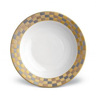 L Objet Byzanteum Tricolor Rimmed Serving Bowl