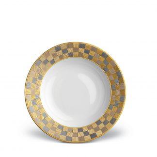L Objet Byzanteum Tricolor Soup Plate
