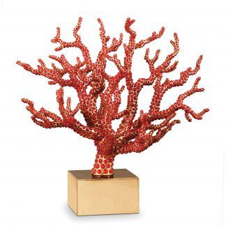 L Objet Coral Centerpiece