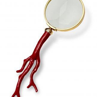 L Objet Coral Magnifying Glass
