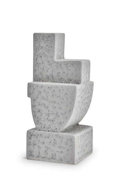 L Objet Cubisme Bookend Two Grey