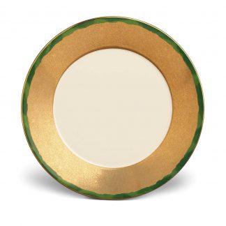 L Objet Fortuny Dinner Plates Green