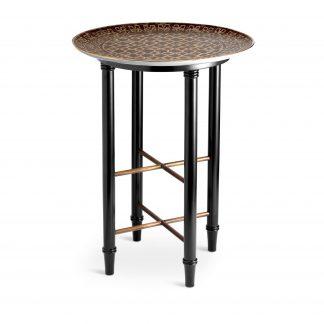 L Objet Fortuny Tray Tables Side Table Ashanti Grey