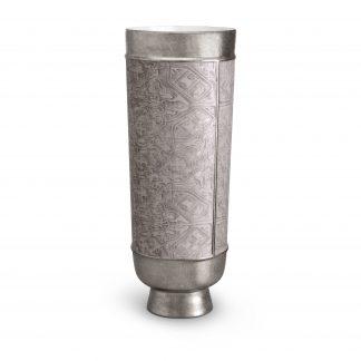 L Objet Fortuny Vases Moresco Platinum Xlarge