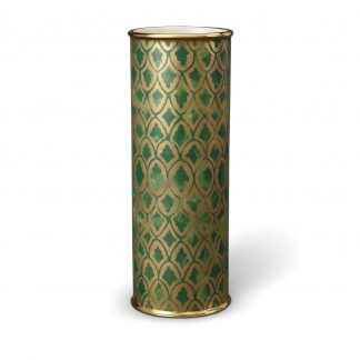 L Objet Fortuny Vases Peruviano Green Large