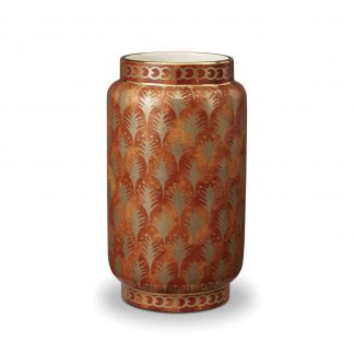 L Objet Fortuny Vases Piumette Orange Medium