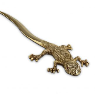 L Objet Gecko Letter Opener
