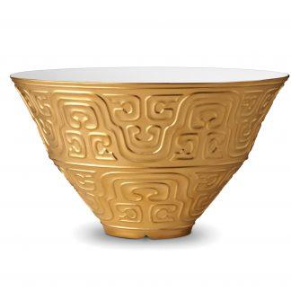 L Objet Han Gold Bowl Large