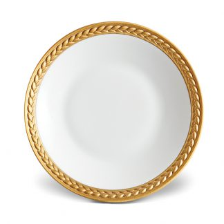 L Objet Han Gold Sauce Dish Spoon Rest