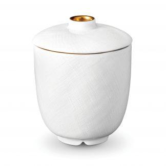 L Objet Han Gold Sugar Bowl