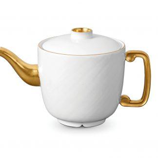 L Objet Han Gold Teapot