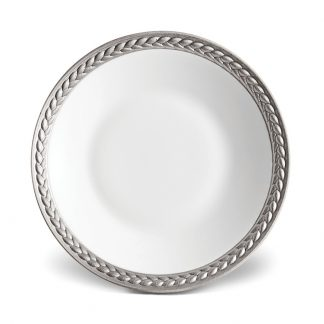 L Objet Han Platinum Sauce Dish Spoon Rest