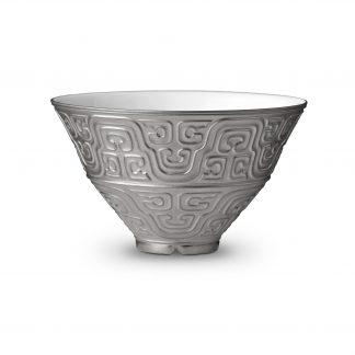 L Objet Han Platinum Soup Bowl