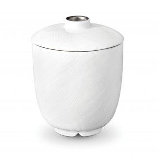 L Objet Han Platinum Sugar Bowl
