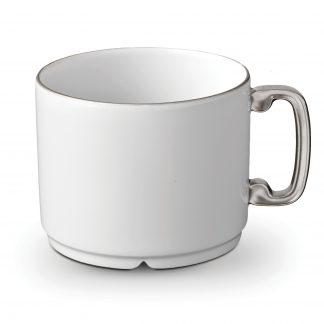 L Objet Han Platinum Tea Cup