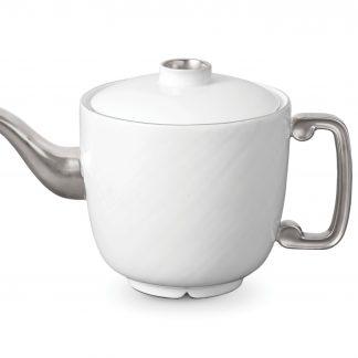 L Objet Han Platinum Teapot