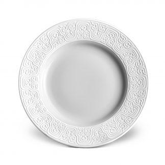 L Objet Han White Bread Butter Plate