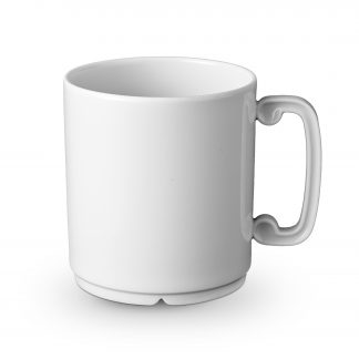 L Objet Han White Mug