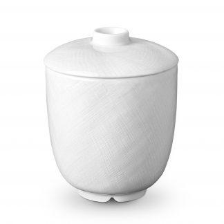 L Objet Han White Sugar Bowl
