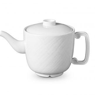 L Objet Han White Teapot