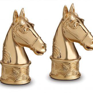 L Objet Horse Gold