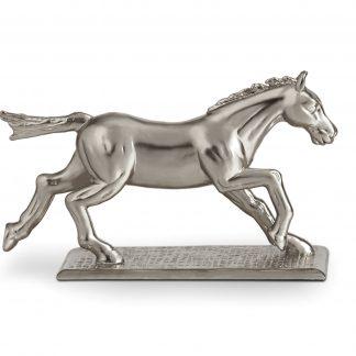 L Objet Horse Knife Chopstick Rest Platinum Set Of 6