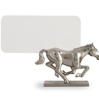 L Objet Horse Platinum