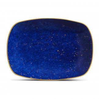 L Objet Lapis Rectangular Tray Small