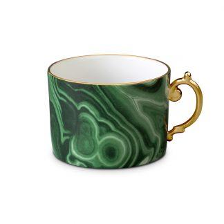 L Objet Malachite Tea Cup