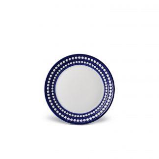L Objet Perle Bleu Bread Butter Plate