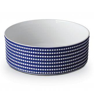 L Objet Perle Bleu Deep Bowl Large