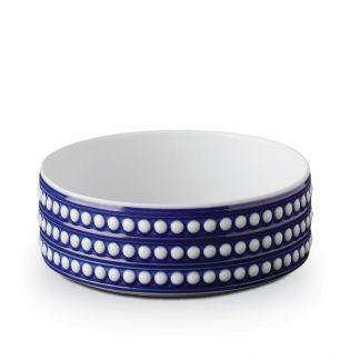 L Objet Perle Bleu Deep Bowl Medium
