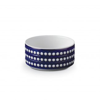 L Objet Perle Bleu Deep Bowl Small