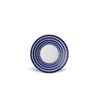 L Objet Perle Bleu Saucer