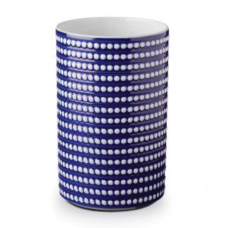 L Objet Perle Bleu Vase Large
