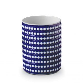 L Objet Perle Bleu Vase Small
