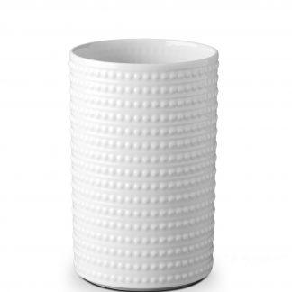 L Objet Perle White Vase Large