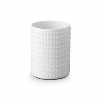 L Objet Perle White Vase Small