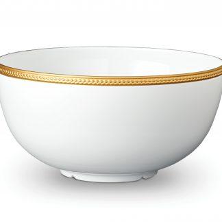 L Objet Soie Tresse Gold Bowl Large